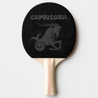 Capricornio translúcido pala de ping pong