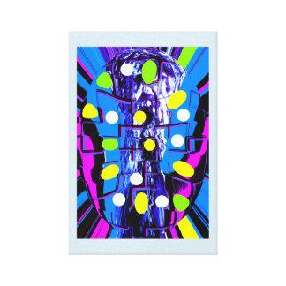 Cápsula de la creatividad impresión en lienzo
