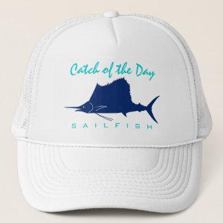 Captura del día - gorra de la pesca del pez