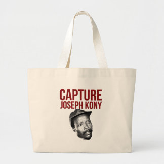 Captura Kony - camisetas, casos, gorras y botones Bolsa De Tela Grande