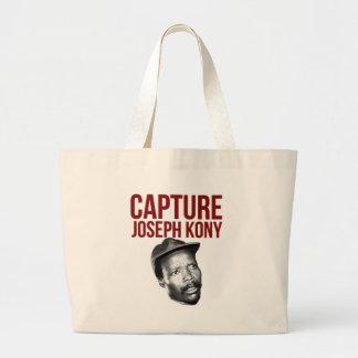 Captura Kony - camisetas, casos, gorras y botones Bolsa Tela Grande