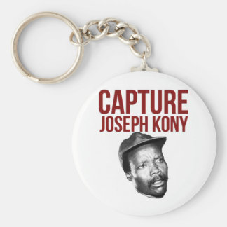 Captura Kony - camisetas, casos, gorras y botones Llavero Redondo Tipo Chapa
