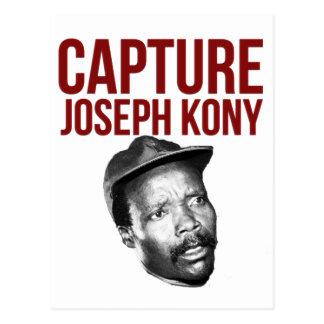 Captura Kony - camisetas, casos, gorras y botones Postal