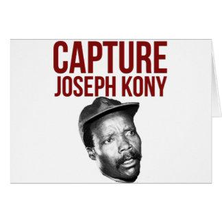 Captura Kony - camisetas, casos, gorras y botones Tarjeta De Felicitación