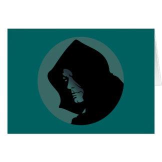 Capucha cara verde hood face green tarjetón