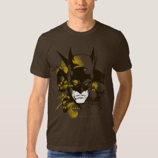 Capucha y cráneos de Batman Camisetas