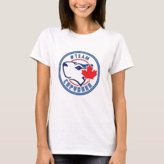 Capybara del equipo camiseta