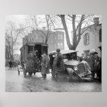 Car arruinado del contrabandista, 1922 posters