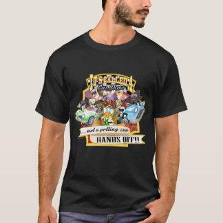 Car Show - la camiseta de los hombres de los