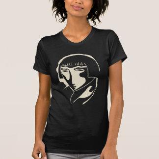 cara 1928 de la mujer del año camisetas
