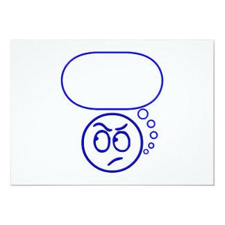 Cara #5 (con la burbuja del discurso) invitaciones personales