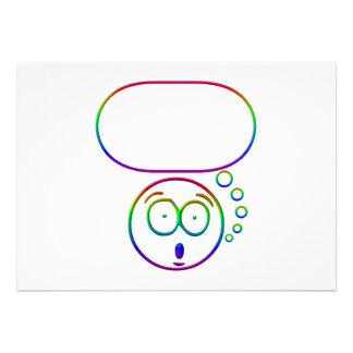 Cara #7 (con la burbuja del discurso)