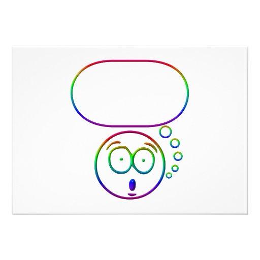 Cara #7 (con la burbuja del discurso) comunicados personales