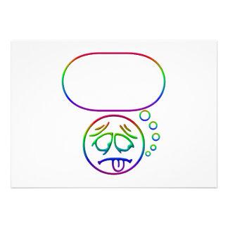 Cara #8 (con la burbuja del discurso)