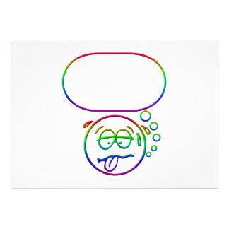 Cara #9 (con la burbuja del discurso)