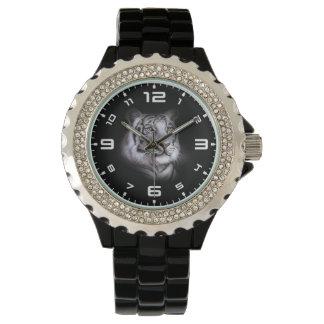 Cara blanca del tigre reloj