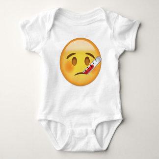 Cara con el termómetro Emoji Body Para Bebé