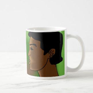 cara de África Taza De Café