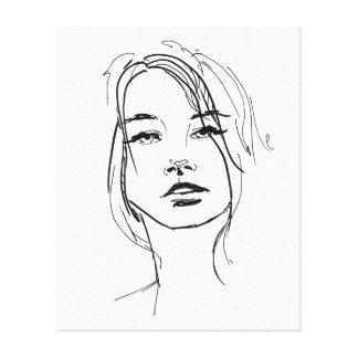 Miles de diseños de lienzos con diseños sobre ilustraciones en Zazzle