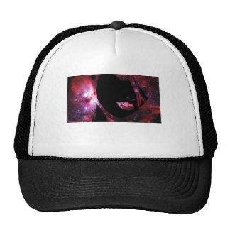 Cara de la mujer en espacio - Darryl Alan marca Gorras De Camionero