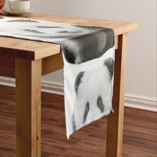 Cara de la panda camino de mesa