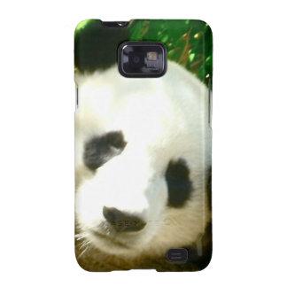 Cara de la panda samsung galaxy SII funda