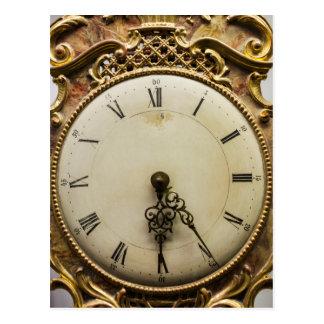 Cara de reloj del siglo XIX, Alemania Postal