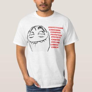 Cara de risa Meme cómico de la rabia de PFFTCH Camiseta