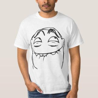 Cara de risa Meme cómico de la rabia de PFFTCH Camisetas