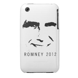 CARA de Romney 2012 iPhone 3 Case-Mate Protectores