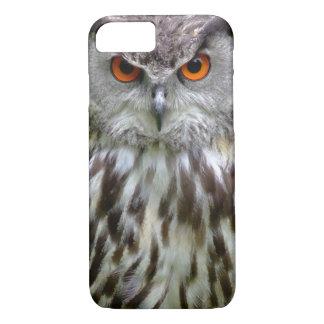 Cara del búho funda iPhone 7