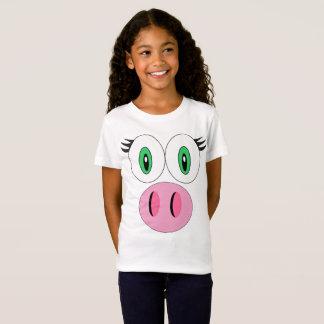 ¡Cara del cerdo! Camiseta
