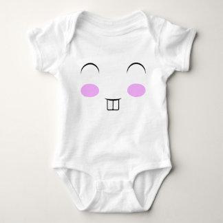 Cara del conejito body para bebé