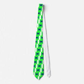 Cara del dinero del amante del efectivo (plástico corbata personalizada