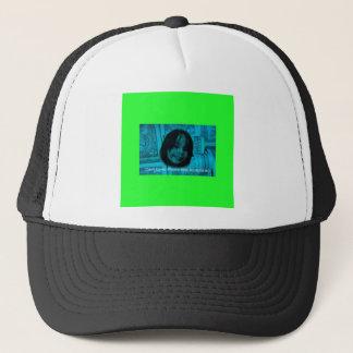 Cara del dinero del amante del efectivo (plástico gorra de camionero