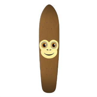 Cara del mono tablas de patinar