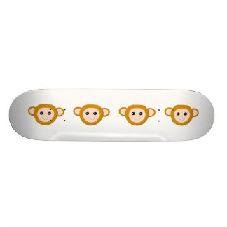 Cara del mono tablas de skate