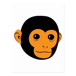 Cara del mono postales
