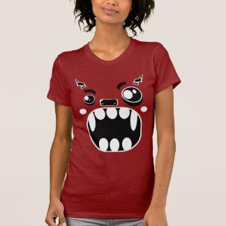 Cara del monstruo camiseta
