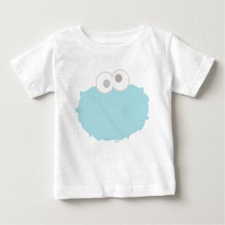 Cara del monstruo de la galleta del bebé camiseta de bebé