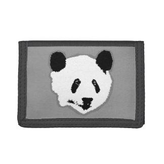 Cara del oso de panda gigante