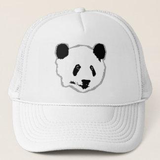 Cara del oso de panda gigante gorra de camionero