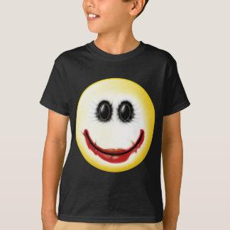 Cara del smiley del comodín camiseta