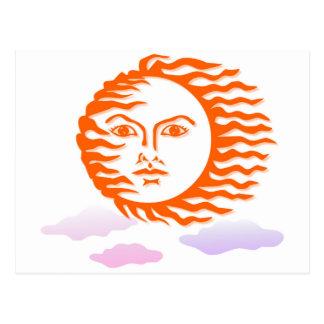cara del sol postal