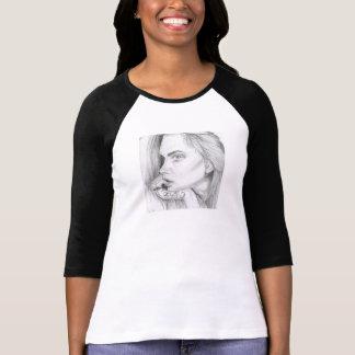 Cara Delevingne top/Shirt/Longsleeve Camiseta