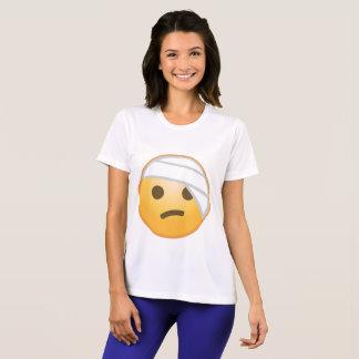 Cara Emoji del vendaje Camiseta