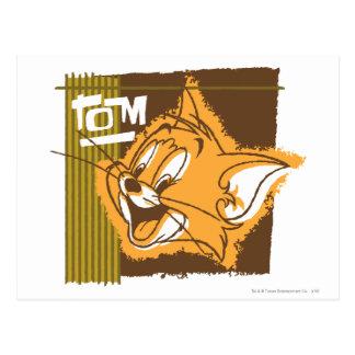 Cara feliz de Tom Postal