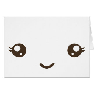 Cara feliz tarjetón