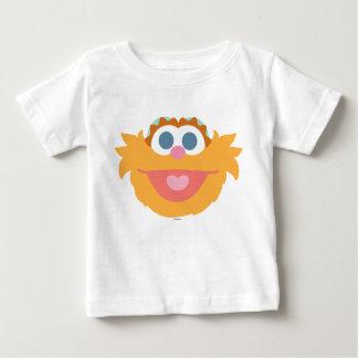 Cara grande de Zoe del bebé Camiseta De Bebé