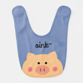 Cara guarra baberos para bebé